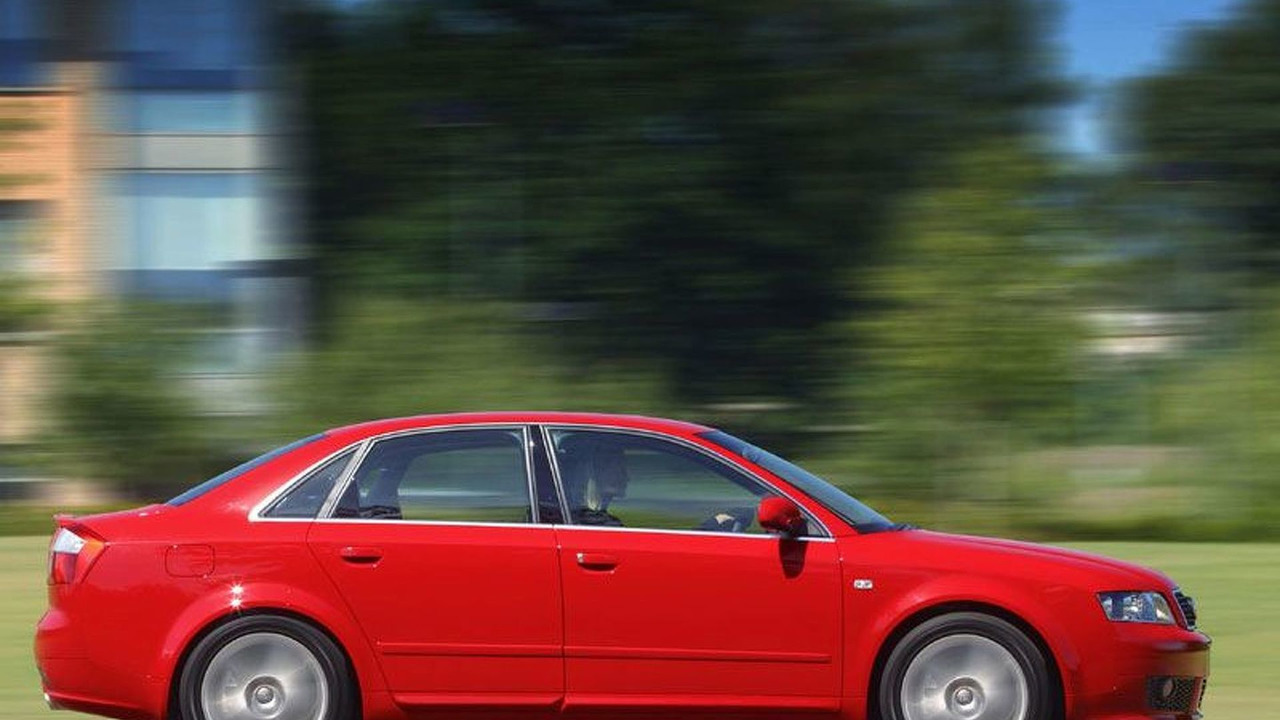 Audi A4 with optional Sport Pack