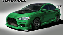 Toyo Tires Evo X at SEMA 2008