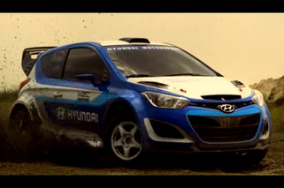 Video: Hyundai i20 WRC Warps Time and Eats Dirt