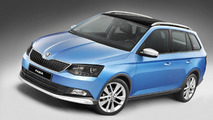 Skoda Fabia Combi ScoutLine introduced in Europe