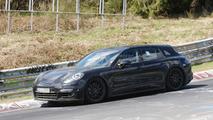 2018 Porsche Panamera Shooting Brake spy photo