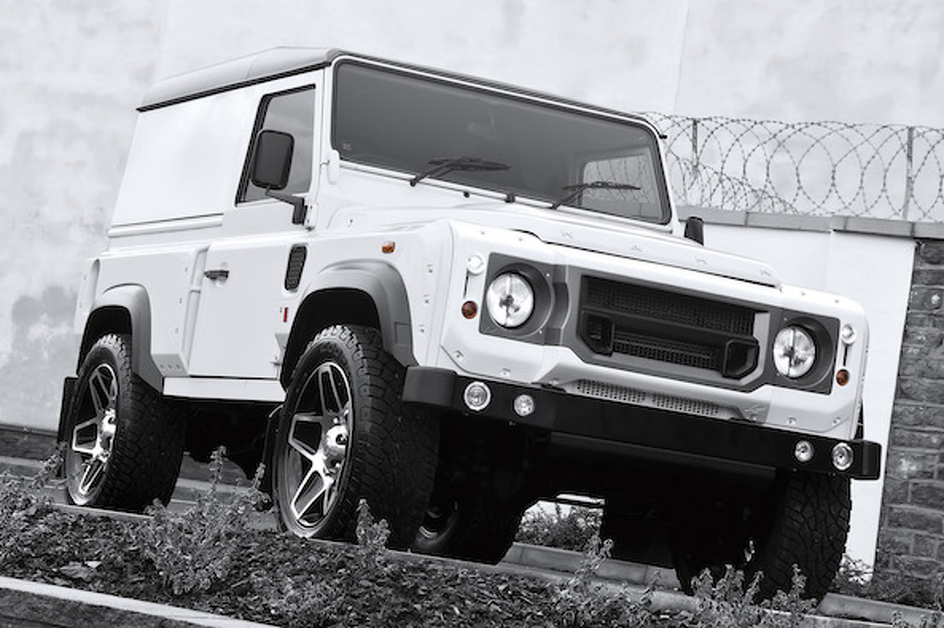 A. Kahn Delivers a Duo of Land Rover Defenders