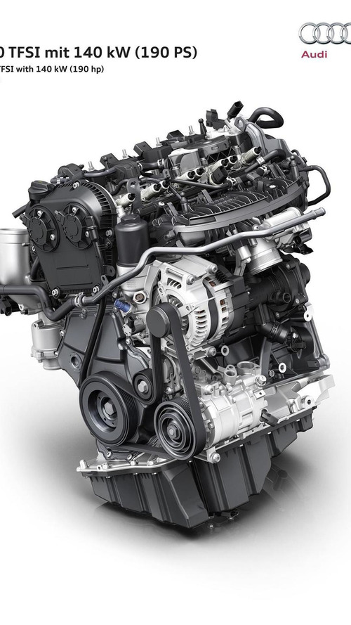 Audi presents new 2.0 TFSI engine with 190 PS for 2016 A4