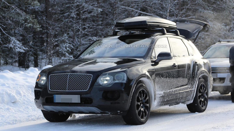 Bentley open to a smaller crossover