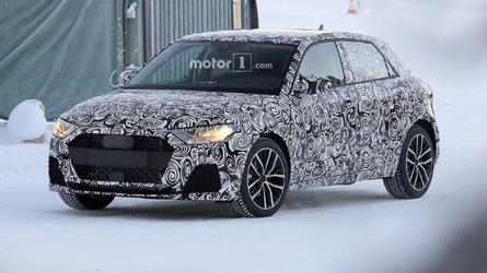 2019 Audi A1 spy photos