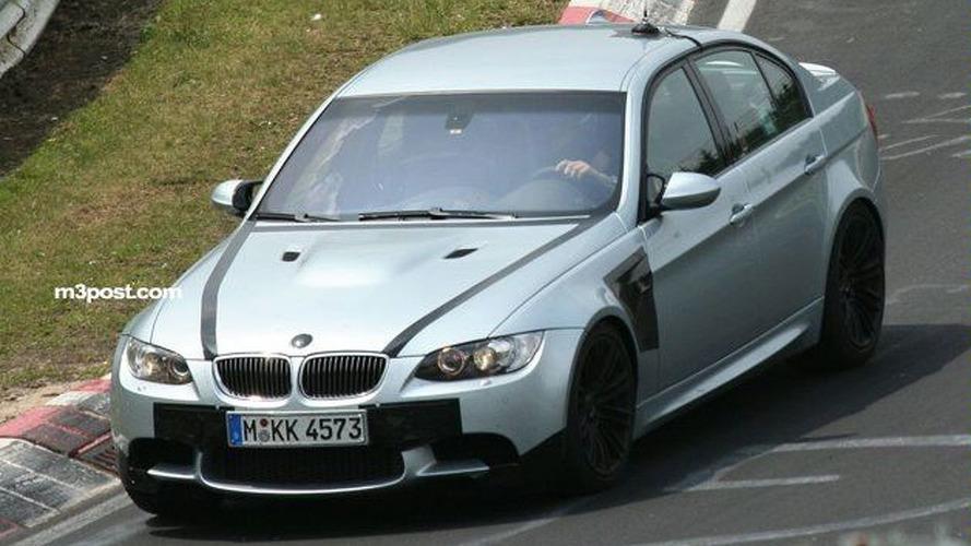 BMW M3 Sedan Most Revealing Spy Shots Yet