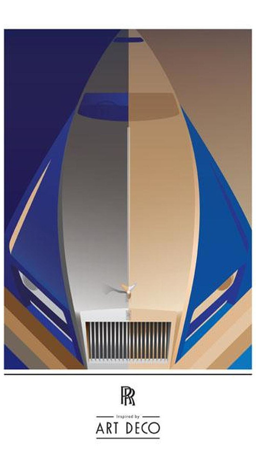 Rolls-Royce teases art deco-inspired models for Paris
