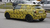 MINI Cooper five-door spied