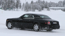 2013 Rolls Royce Phantom Coupe facelift spy photo 19.1.2012
