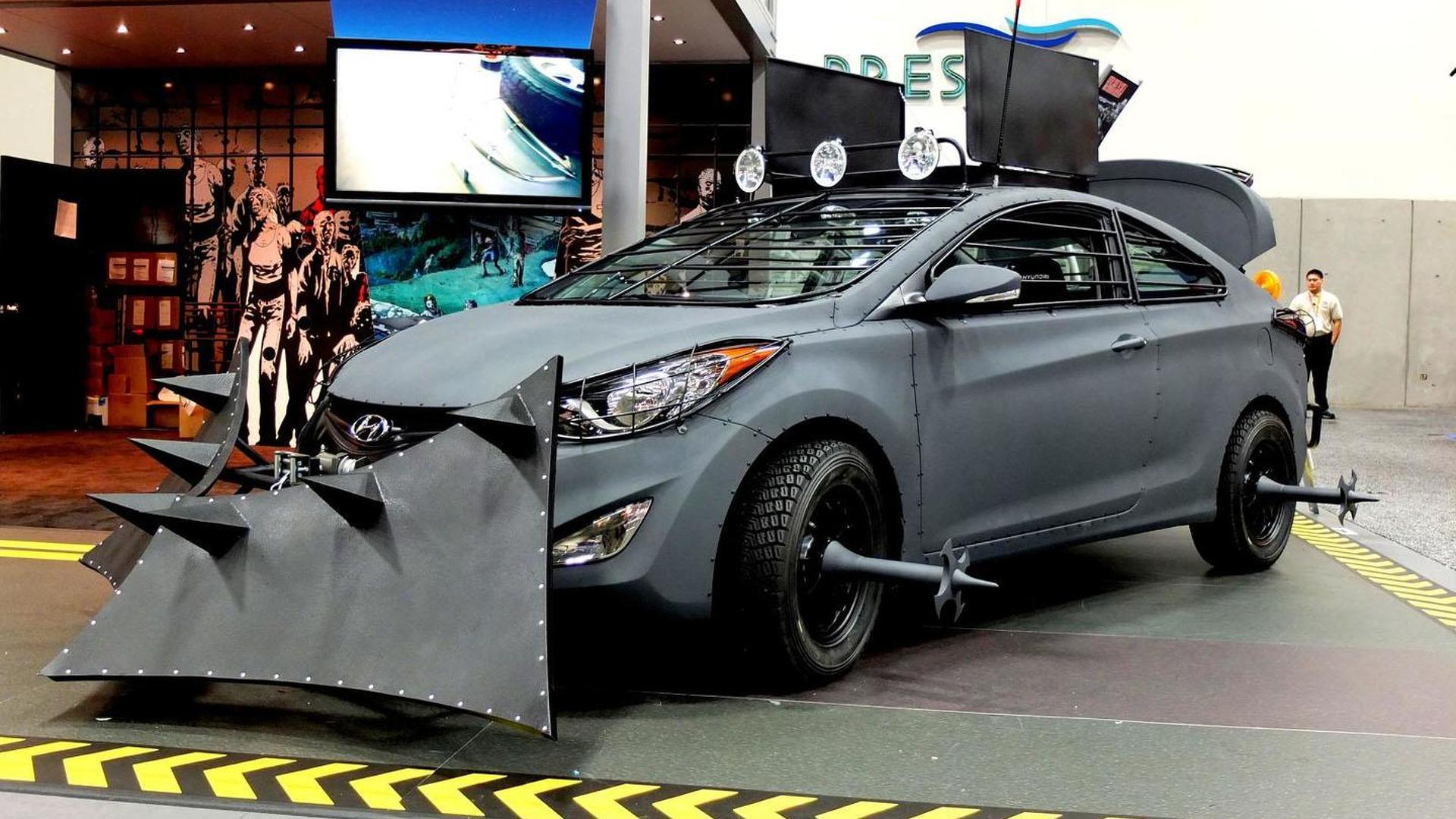 Hyundai Elantra Coupe Zombie Survival Machine officially revealed