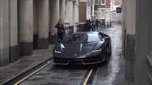 Vidéo - Une Lamborghini Centenario sur le tournage de Transformers 5 à Londres