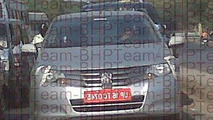 Next Generation Honda Aria Spotted While Testing in India