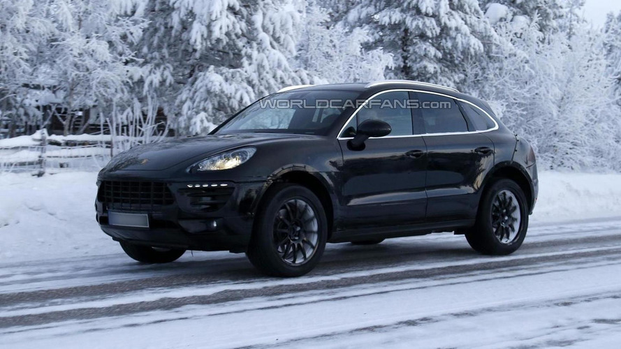 2014 Porsche Macan spied once again
