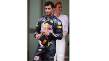 Daniel Ricciardo, Red Bull Racing on the podium
