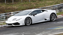 Lamborghini testing go-faster Huracan at the 'Ring