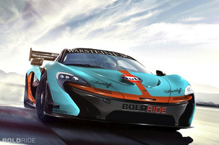 McLaren P1 GTR Concept Pays Homage to Classic F1 Racer