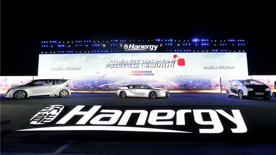 Hanergy claims solar cars need 5 hours of sun for 50 miles of range