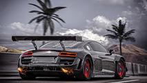 RECON MC8 is a carbon fiber, rear-wheel drive Audi R8 V10 Plus with 950 PS