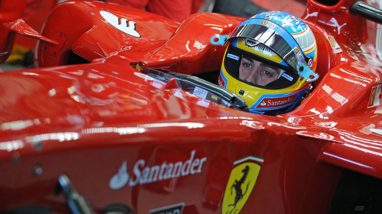 Fernando Alonso (ESP), Ferrari F10 Testing, 03.02.2010, Valencia, Spain