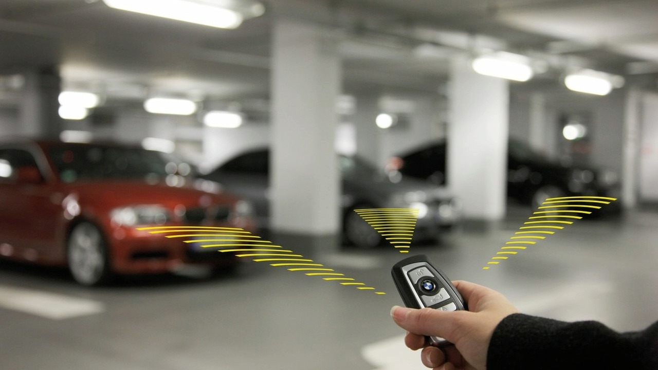 BMW new multifunctional smart key