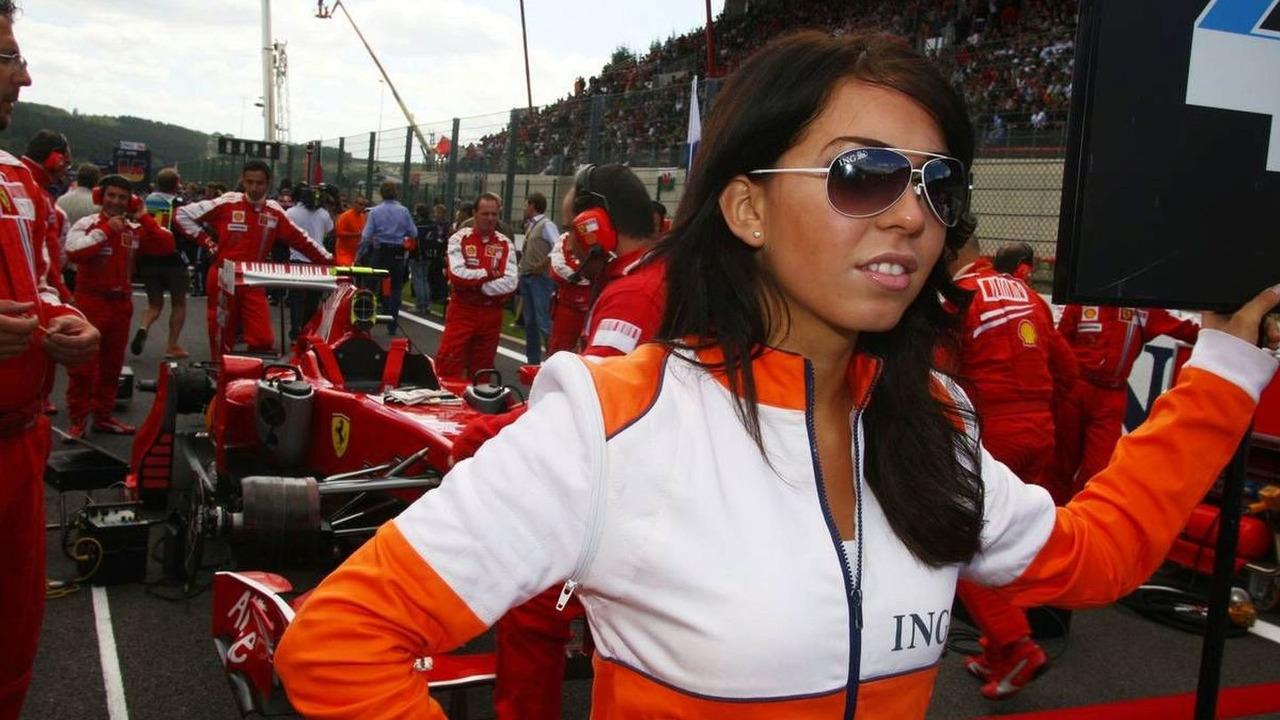 2009 Belgian Grand Prix Grid Girls