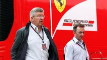 Brawn insists Ferrari visit part of holiday