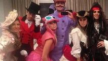 Felipe Massa dressed like a pirate