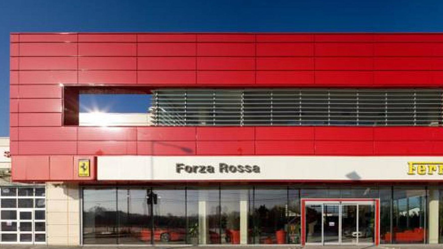'Forza Rossa' is Romanian Ferrari dealer
