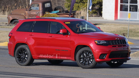 Jeep Grand Cherokee Trackhawk's Monster Motor Spied