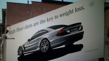 Mercedes SL65 AMG Black Series Outdoor Adverts