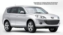 SPY PHOTOS: Peugeot 4007