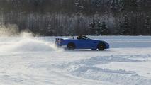 Jaguar XKR-S Convertible Nordic Drive January 2012