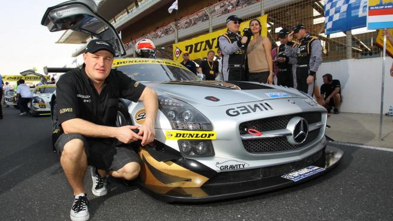 Tomas Enge, Dunlop 24h Dubai, Mercedes-Benz SLS AMG GT3, 14.01.2012