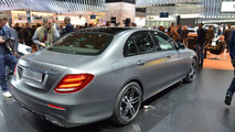 2016 Mercedes E Class shows familiar design in Detroit [videos]