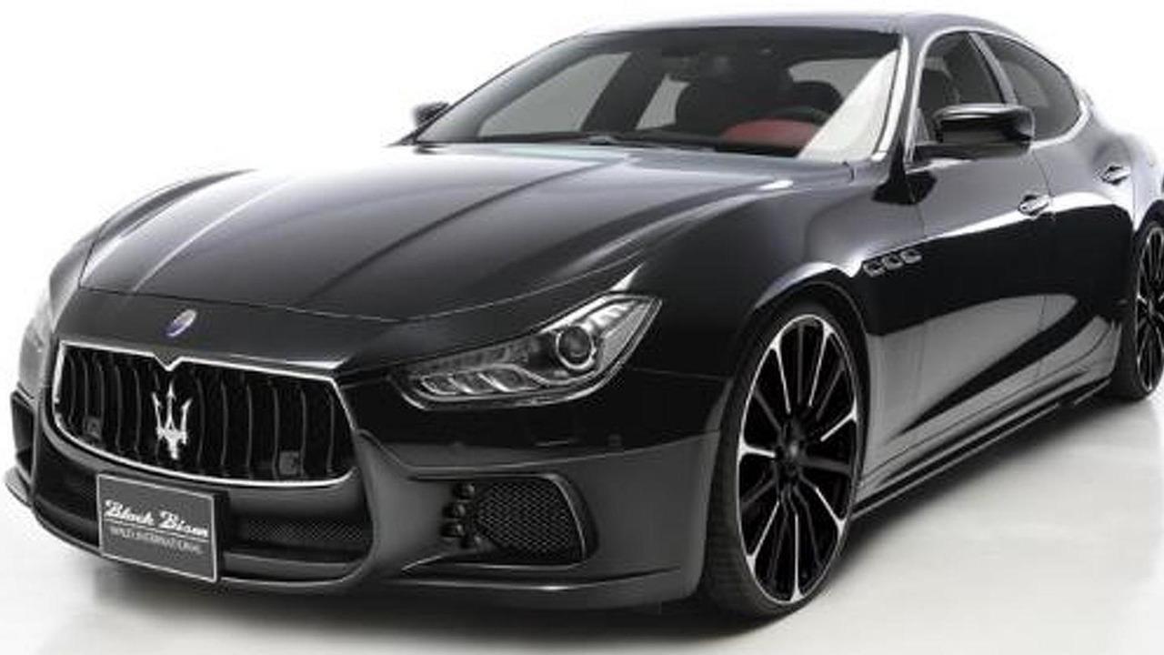 Wald Maserati Ghibli Black Bison