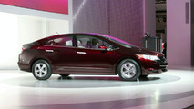 Honda FCX Clarity at Los Angeles Motor Show