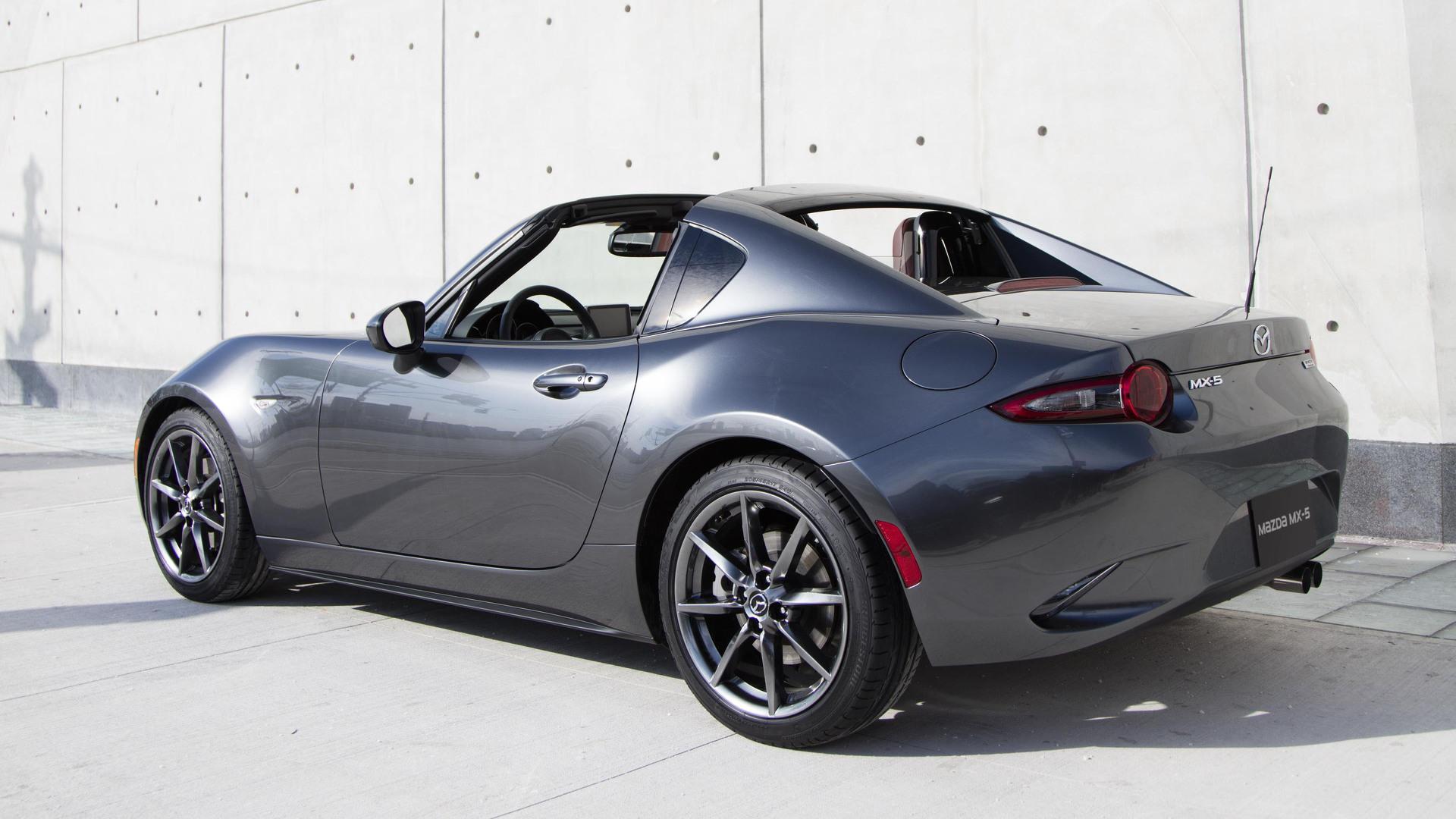 Mazda MX-5 Miata RF starts at $31,555, Launch Edition preorders open