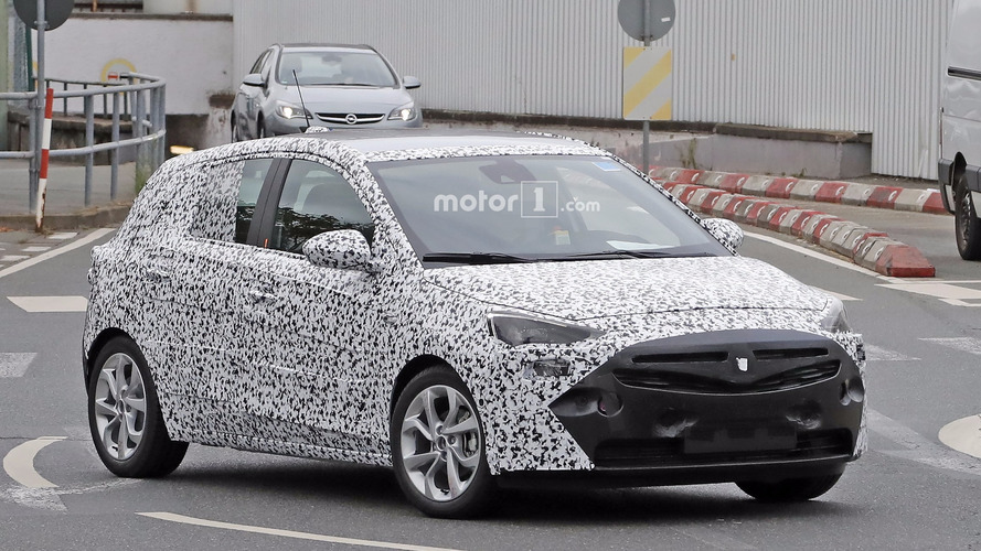 All-new Opel Corsa makes spy photo debut