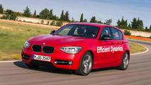 Prototype BMW 1-Series with 218 PS direct water injection 1.5-liter engine revealed