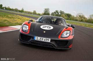 Porsche Drops More Details on 918 Spyder