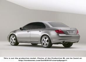 Acura RL Prototype