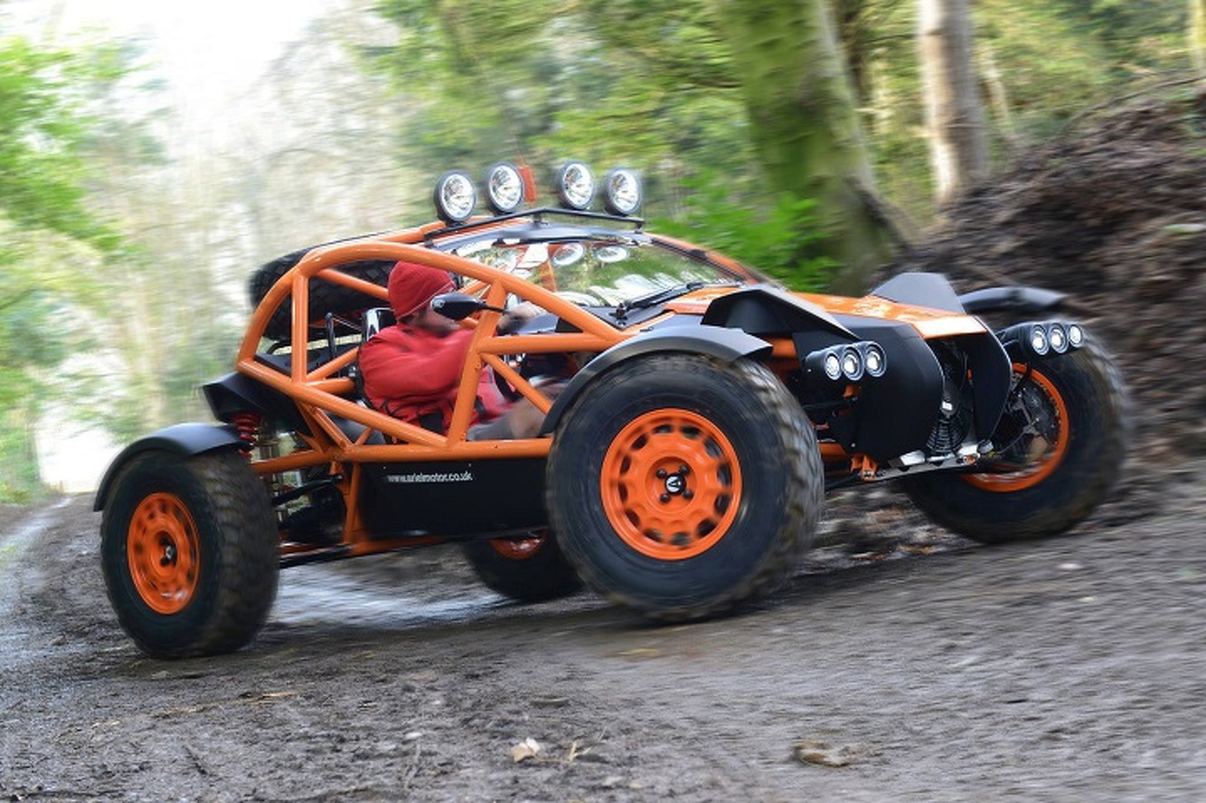 Ariel Slaps a Supercharger Onto the Nomad Off-Road Sports Car