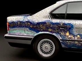 BMW 535i Art Car von Matazo Kayama, 1990