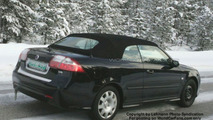 SPY PHOTOS: Saab 9-3 Convertible Facelift