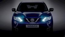 2014 Nissan qashqai teaser - lightened