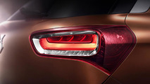 Citroen DS X7 SUV teased before this month's Beijing launch