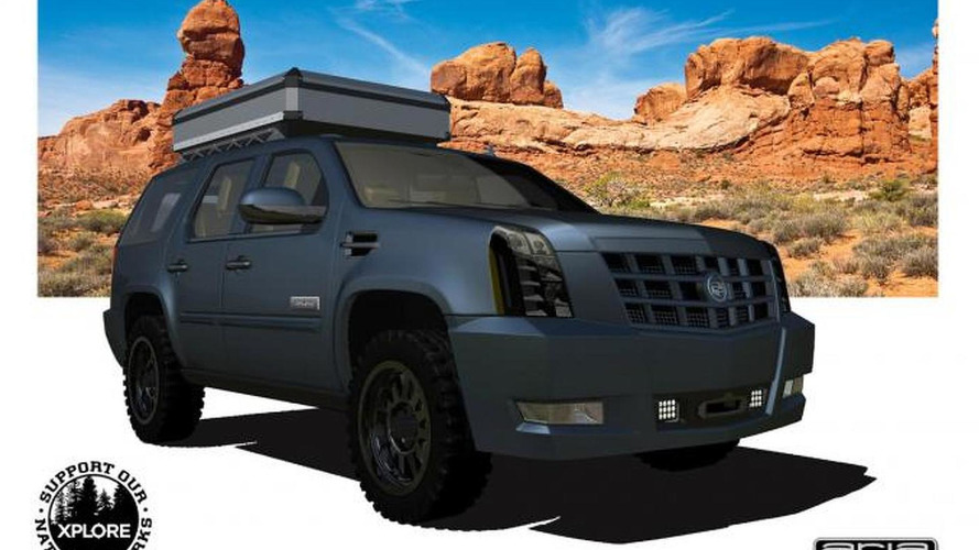 Cadillac Escalade XPLORE Adventure Series revealed