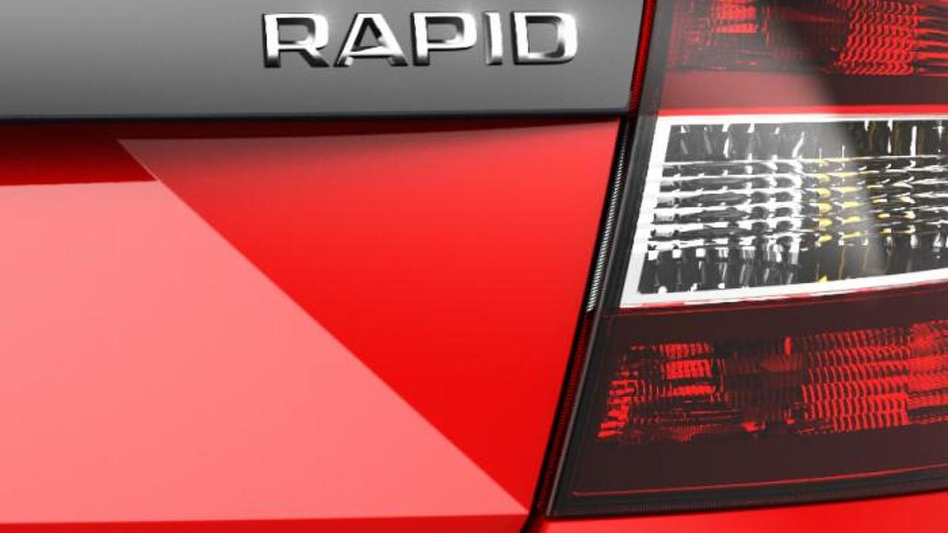 Skoda teases a new Rapid variant, could be a high-performance RS