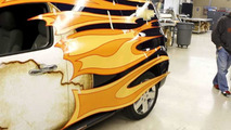 Chevrolet HHR Panel Van Wrap Stars