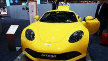 Artega SE electric vehicle concept bolts into Geneva